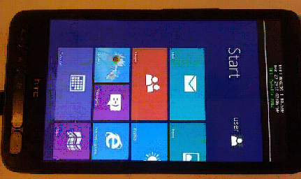 htc hd2 con windows RT